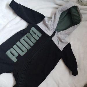 Puma hoodie zip coverall